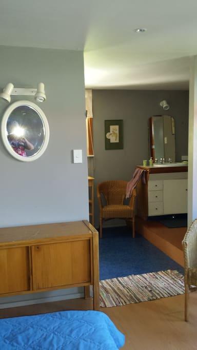 Bathroom from bedroom