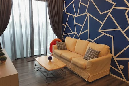 Cozy Family-style Hk Square Kuching City View MJC