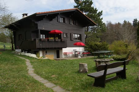 Appartement chalet Suisse (Jura-JB) - Saules - Chalupa