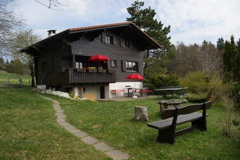 Appartement chalet Suisse (Jura-JB)