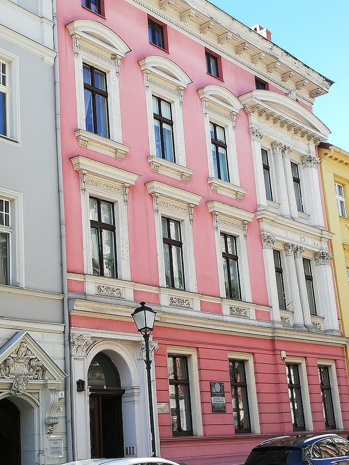 Torun , Stare Miasto , ul.Mostowa.
