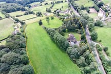 Property set in plenty of land to view and enjoy