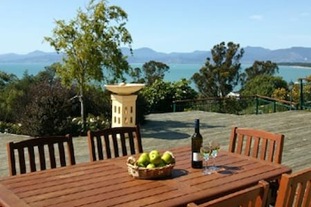 Sandstone House- Ruby Bay, Nelson, NZ - Ruby Bay - Bed & Breakfast