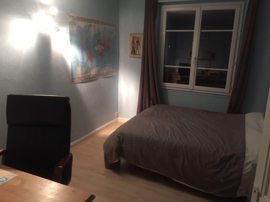Chambre au calme lieu chaleureux chambres d 39 h tes for Chambre d hotes alpes