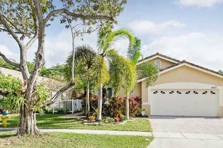 Relax in beautiful south Florida - Pembroke Pines - Casa