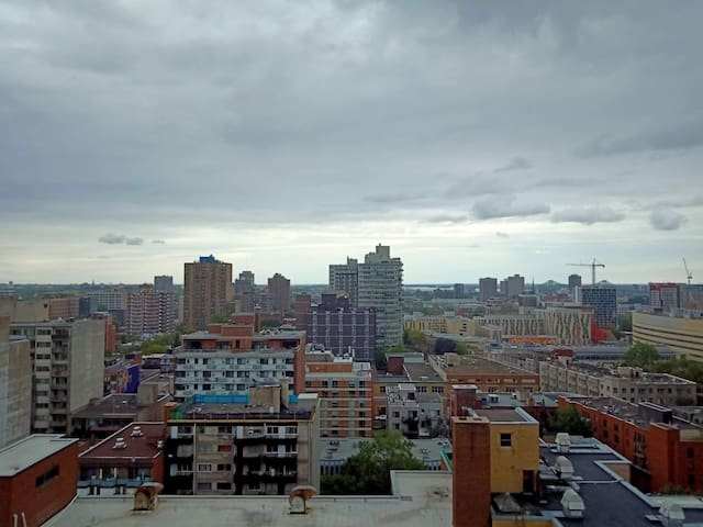 Private penthouse (20th fl) w/balcony downtown MTL