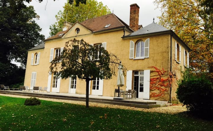 French country house 1h Paris
