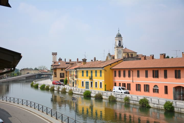 Doppio appartamento sul canale - Gaggiano - Wohnung