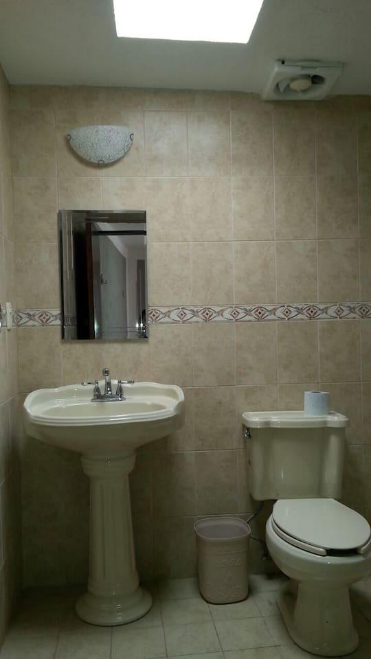 Baño habitación privada