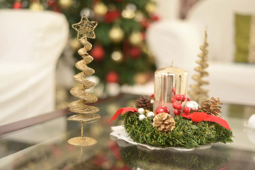 X Mas at the home stay