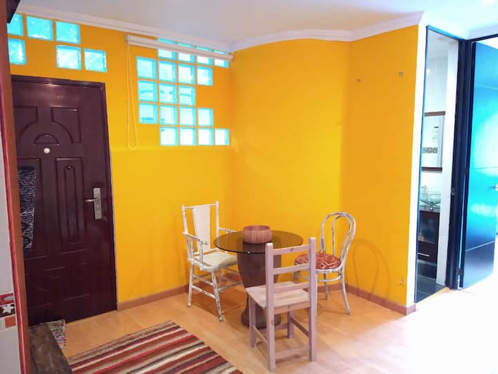 ¡Apartamento estilo Vintage en La Macarena!
