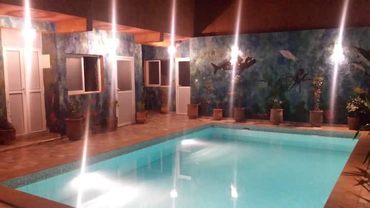Chambre double vue sur piscine 2