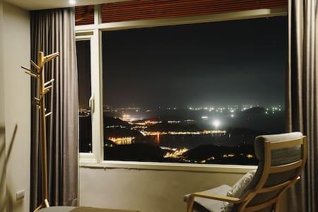 九份【山城逸境】有閒房 (山海景帶大型泡澡浴缸) - Ruifang District - Huoneisto