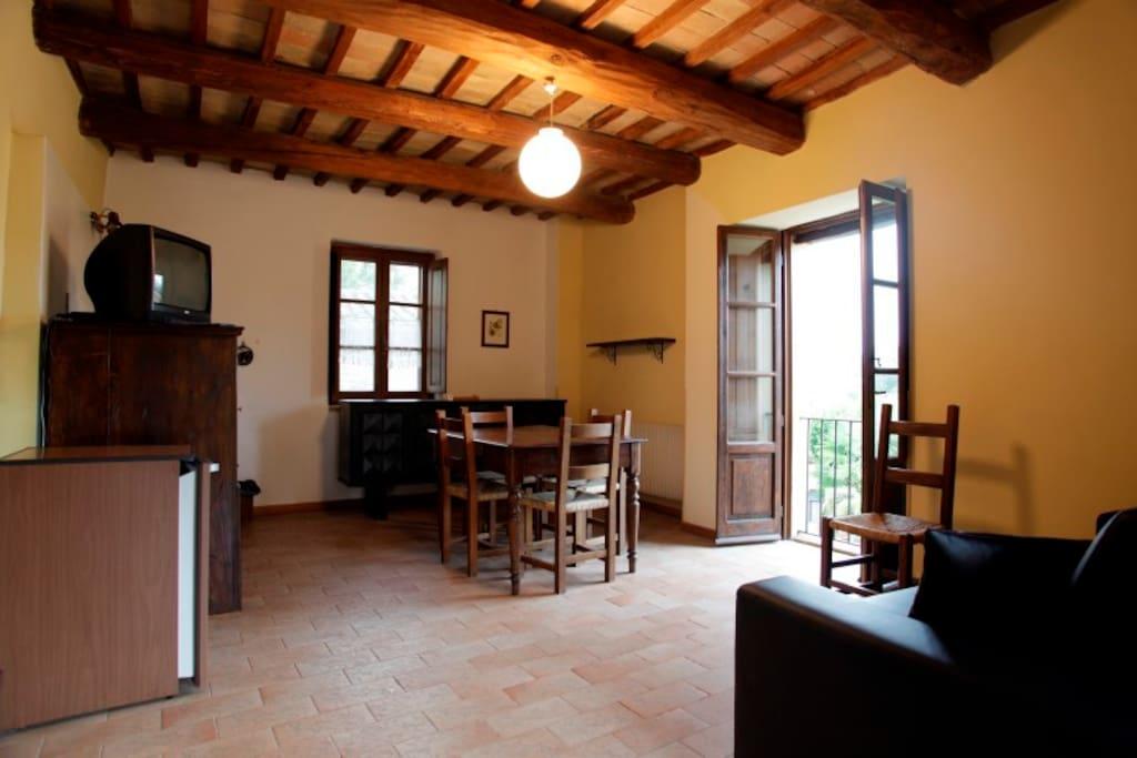 Agriturismo Acquacalda - Living room