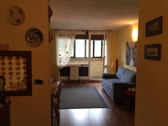 Appartamento luminoso a due passi dalle piste sci. - San Massimo - Leilighet