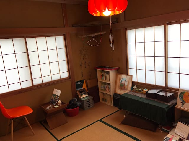読書旅人宿ゆよん荘 - Nishi Ward, Niigata - Casa