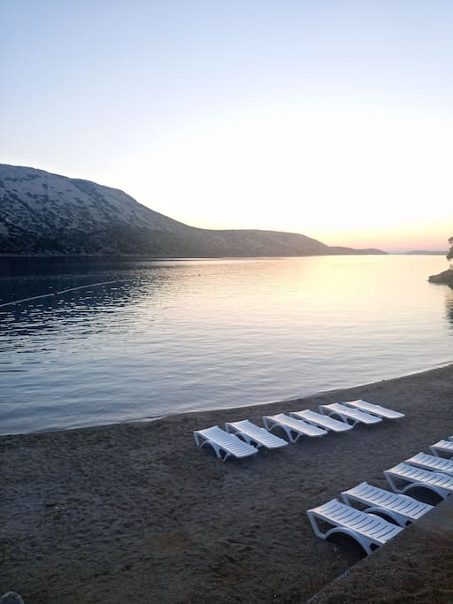 Pudarica beach (about 4km from us)