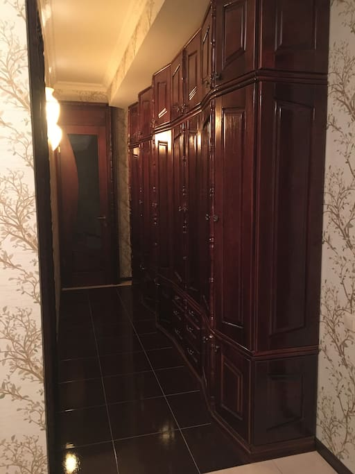 classic real wood wardrobes.