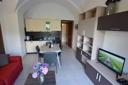 Apartment Cipresso 4, 4 Persons, 1 BD, Terrace - Acquaseria - 公寓