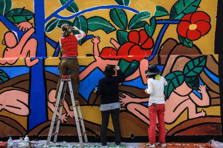 동피랑 벽화