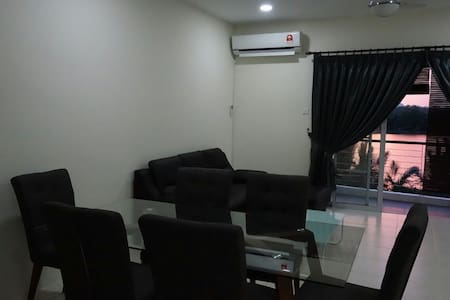 Tranquil riverside apartment - Kota Samarahan