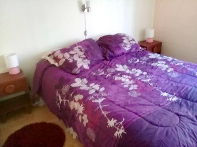 Dormitorio principal - cama queen
