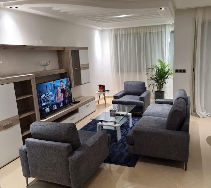 Un appartement de luxe au centre de l'agdal