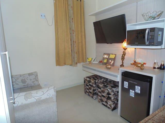 Apartamento Conjugado Aconchegante (Privativo)