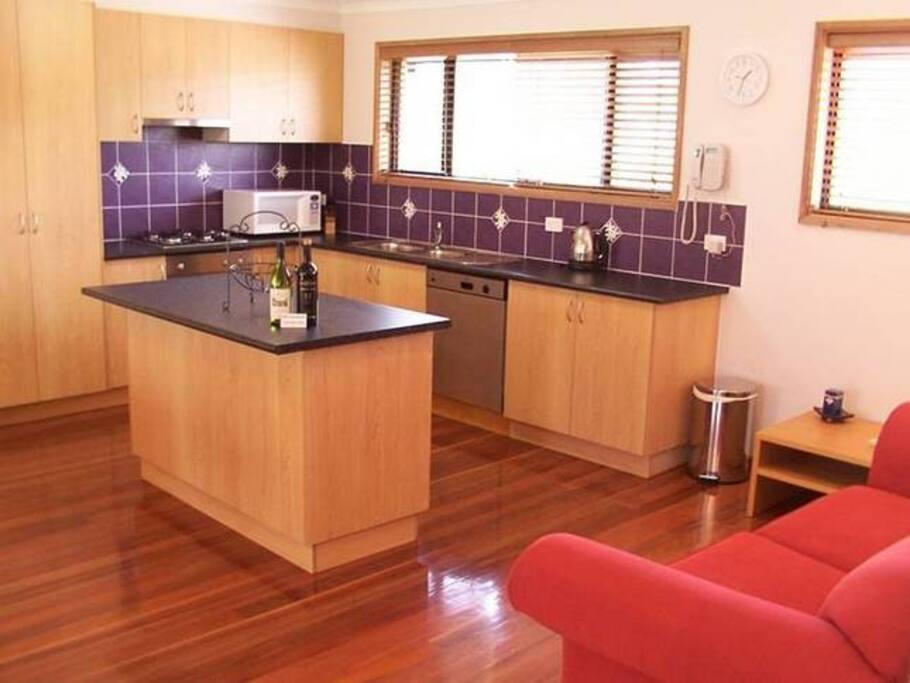 Upstairs Kitchen Area