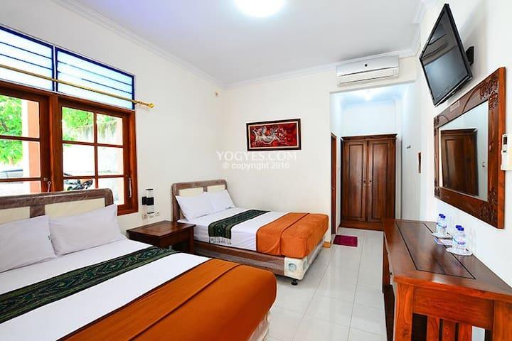Cozy rooms in midtown yogyakarta