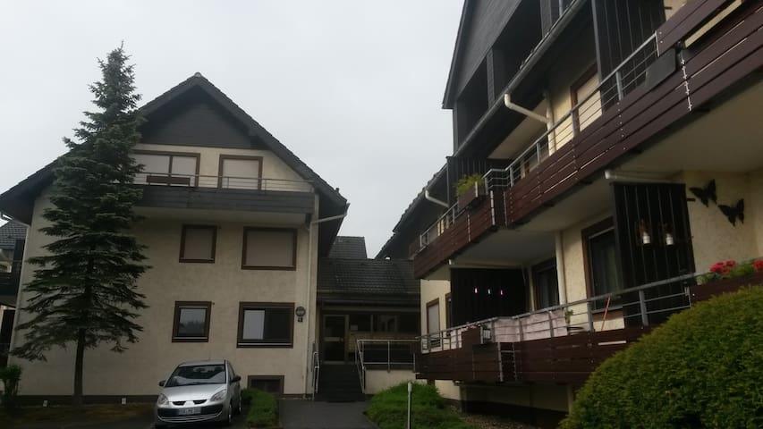 Luxe appartement centrum Winterberg op toplocatie