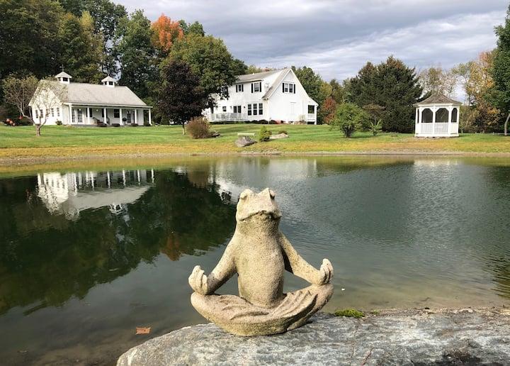 Year Round Serenity at the Bird Cottage