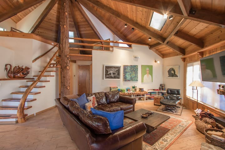 Idyllwild Tree House - (RVC-253) - Idyllwild-Pine Cove - Casa de campo