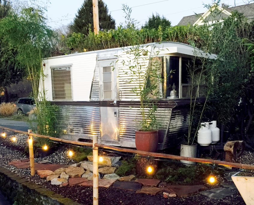 Zen Den - Glamping at its finest with all the fine luxuries.