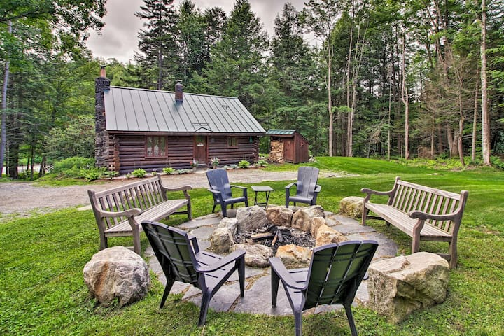Log Cabin, Mins to Green Mountain National Forest!