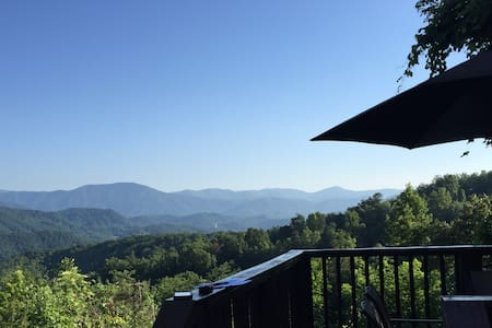 Angel's View, only 10 min to Gatlinburg