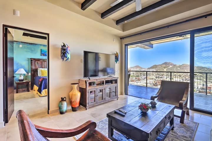 Ultra-Luxurious Condo w/ Vibrant Mexican Interior & Resort-Style Amenities.