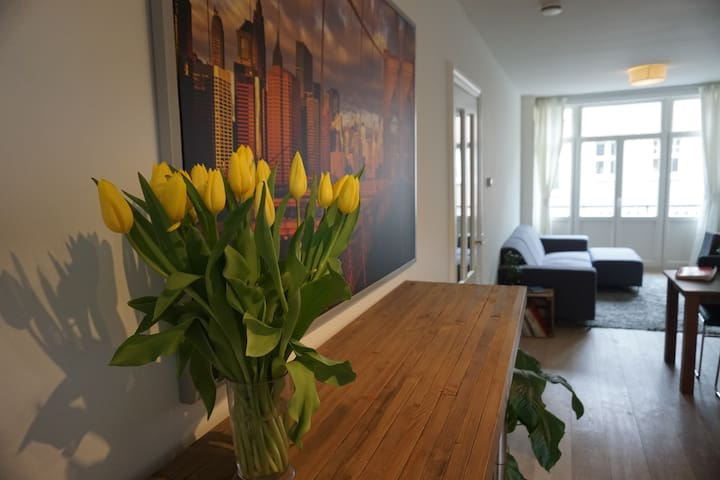 Beautiful apartment in the Schinkelbuurt - Amsterdam - Huoneisto
