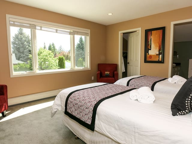 Garden View suite King or Twin beds
