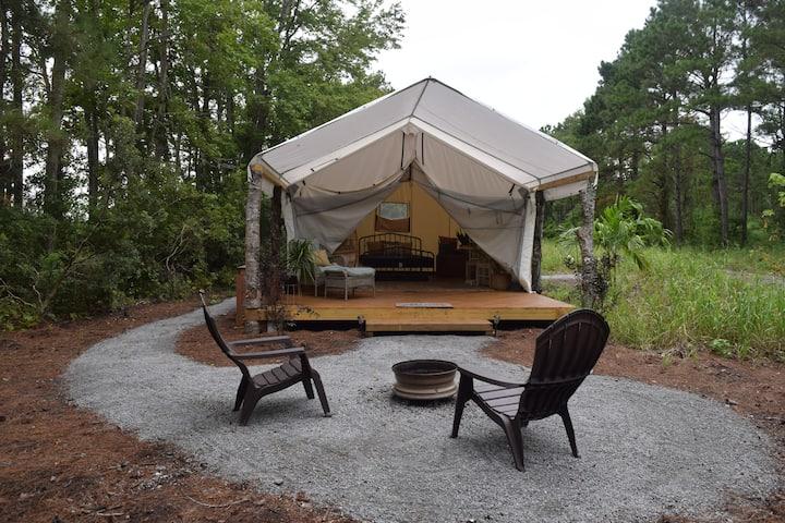 Glamping Tent - Bohemian Dream  | NC Coast Camping