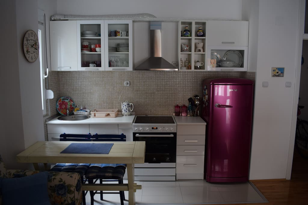 Cute kitchen made for two