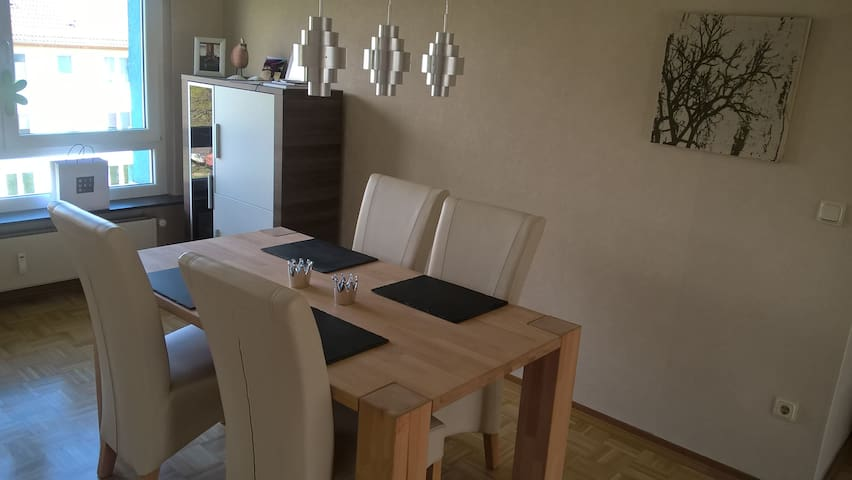 Gießen City 70m² appartement with balcony