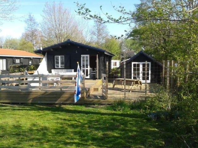 Luxe Cottage aan de Friesche meren met sloep! - Elahuizen - Chatka