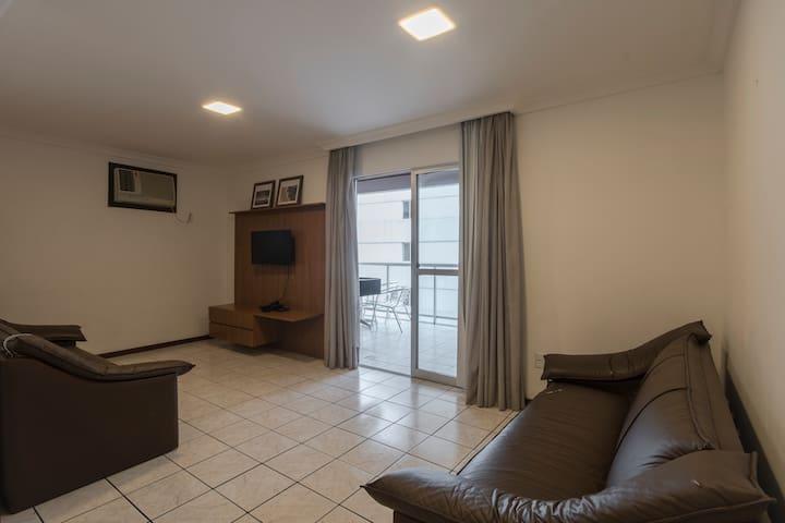 Apart Hotel com churrasqueira - 1 quadra do mar
