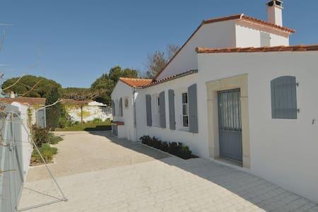 Agréable villa à proximité de la mer - Le Bois-Plage-en-Ré - 別荘