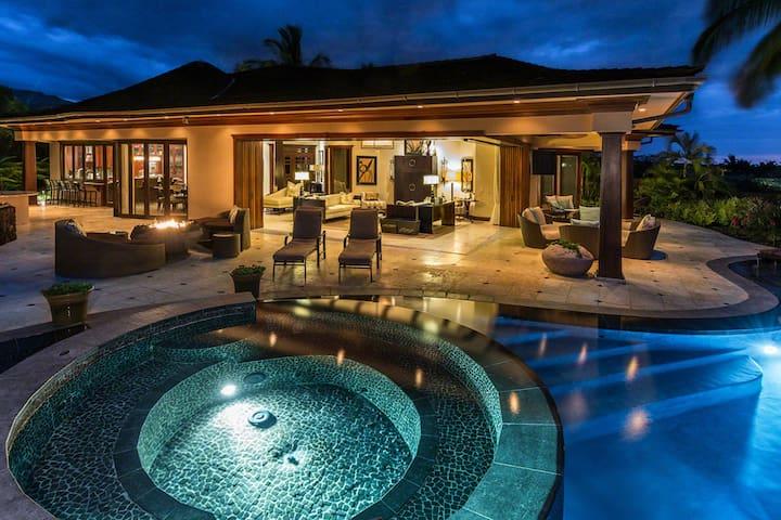 Hualalai's Top Villa | Full Service | $1000 Credit