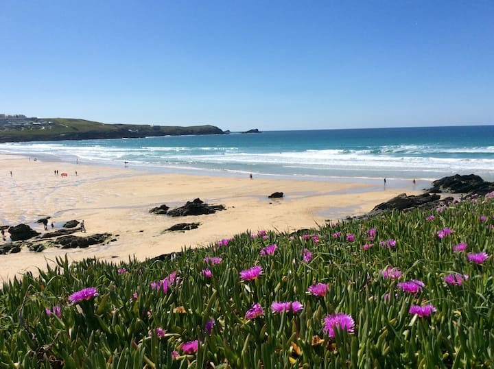 Fabulous Flat Overlooking Fistral Beach, Newquay😎