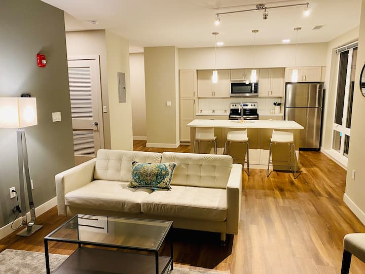 Modern Apt in The Heart of Historic Little Italy!
