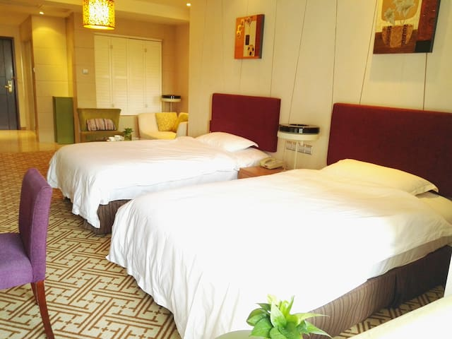 【ABアパートメントホテル】蘇州園区中心/格安価格でご提供!