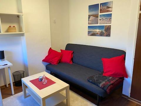 Helle kleine Wohnung im schönen Süden von Hamburg